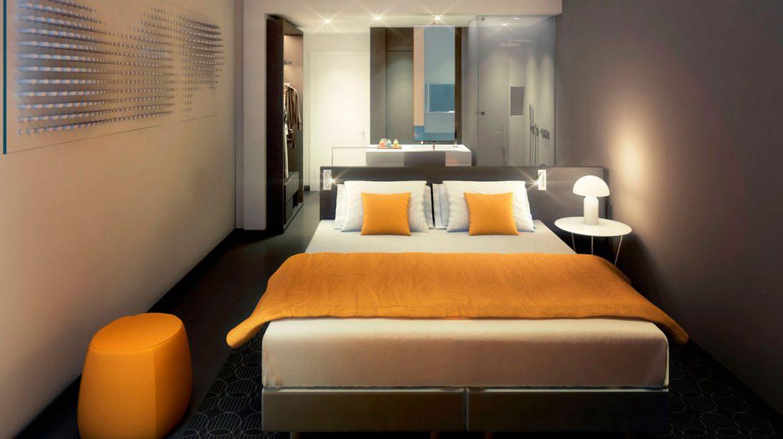 Habitación Proyecto Hotel Noom Mangalis