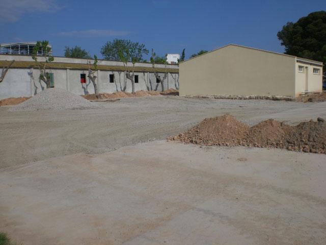 Obras de la Ampliació Urbanització en Irta Mas de Bover