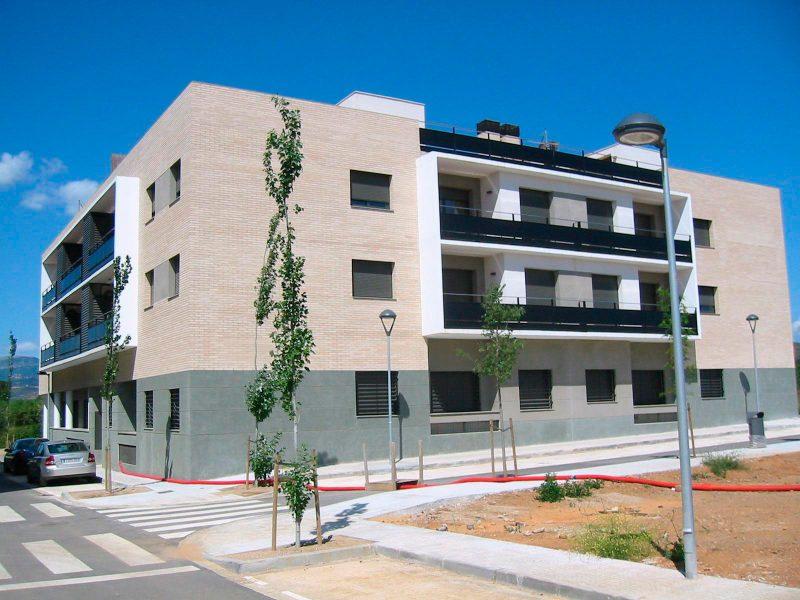 Fachada Proyecto Viviendas ICASA Montbrió
